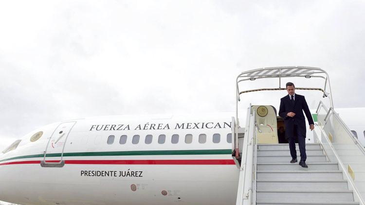 El más caro de su clase: el avión de Peña Nieto aterriza en México (Fotos)