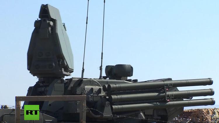 De guardia: así actúan en Siria los sistemas antimisiles rusos S-400 y Pantsir-S1 (video)