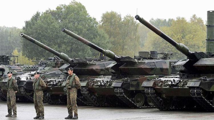 Las cinco armas de la OTAN que apuntan hacia Rusia