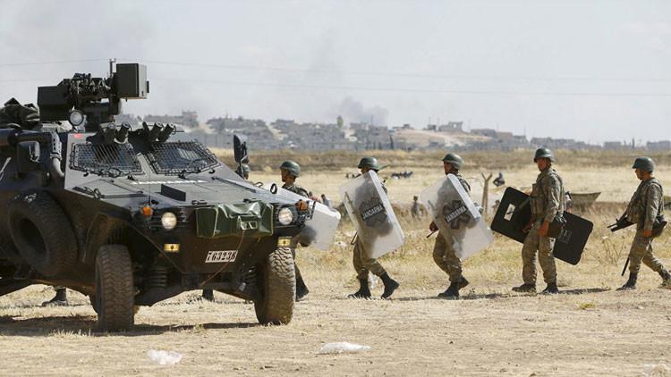 Turquía adelanta operaciones ilegales en Siria (FOTOS)