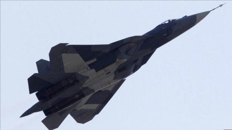 Potencia mortífera: El caza furtivo T-50 atacará desde cualquier distancia con su súper cohete