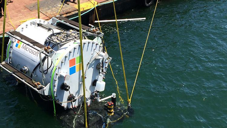 Mares de información: Microsoft presenta un proyecto de almacenamiento de datos bajo el agua