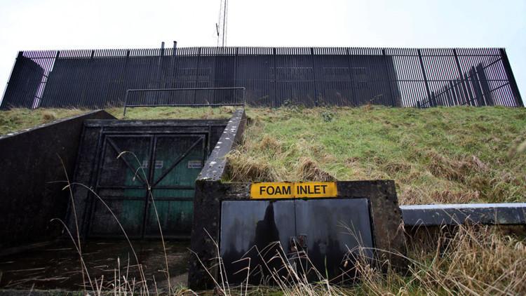FOTOS: Así es el búnker de la Guerra Fría que se puso en venta en Irlanda del Norte