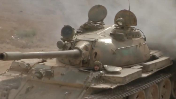 VIDEO: El Ejército sirio provoca la huida de los terroristas en Daraa