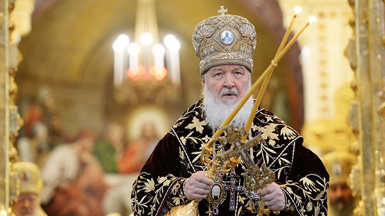 Kiril, patriarca de Moscú y de toda Rusia