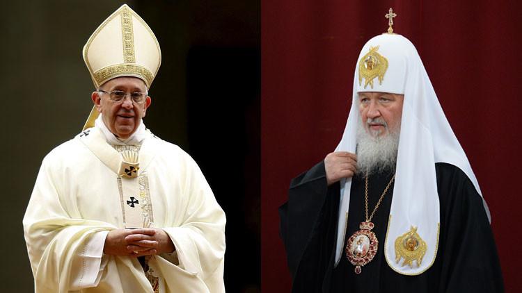 Por primera vez en la historia un patriarca ruso se reunirá con un papa