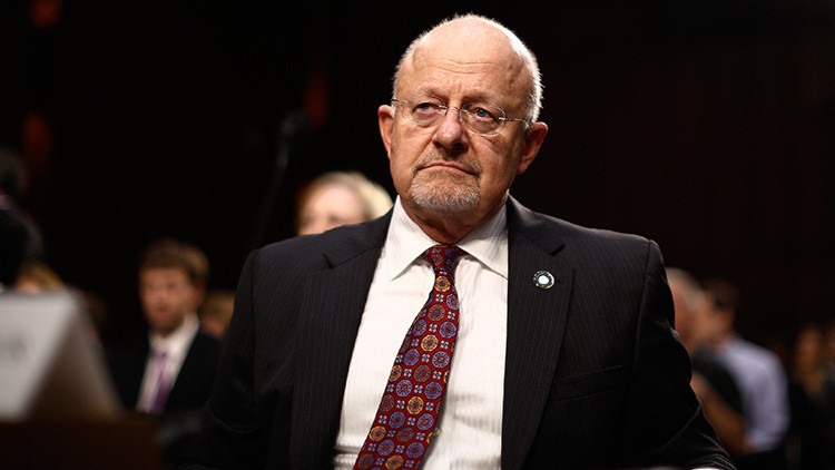 El director de Inteligencia Nacional, James Clapper