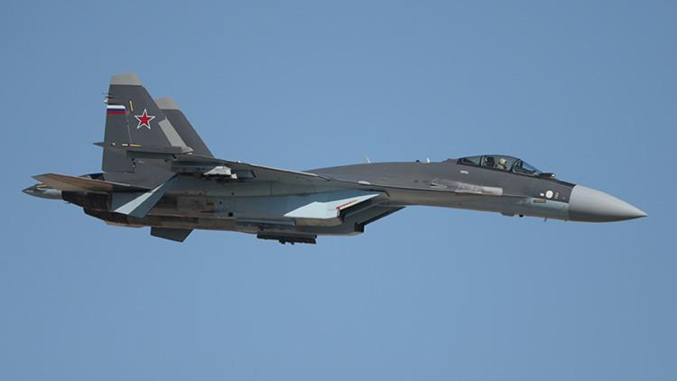 VIDEO: El caza Su-35, nuevo protagonista de la operación antiterrorista rusa en Siria