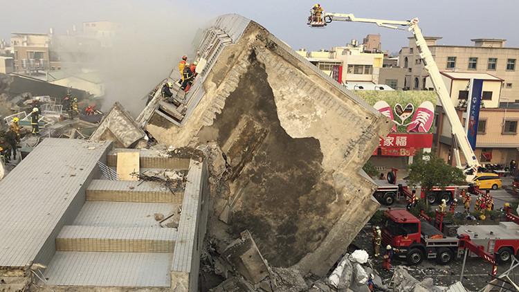 Video impactante: Así se sintió en Taiwán el terremoto de 6,4