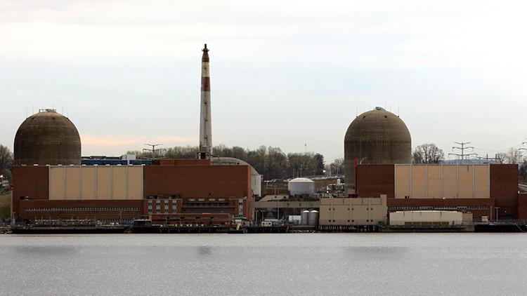 Agua radioactiva se filtra de una central nuclear de Nueva York