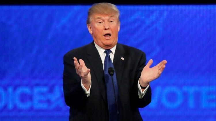 """Donald Trump: """"Nuestro presidente es incompetente y el país se va al infierno"""""""