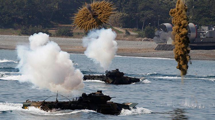 ¿Provocación colosal? EE.UU. y Corea del Sur realizarán el mayor ejercicio militar en su historia