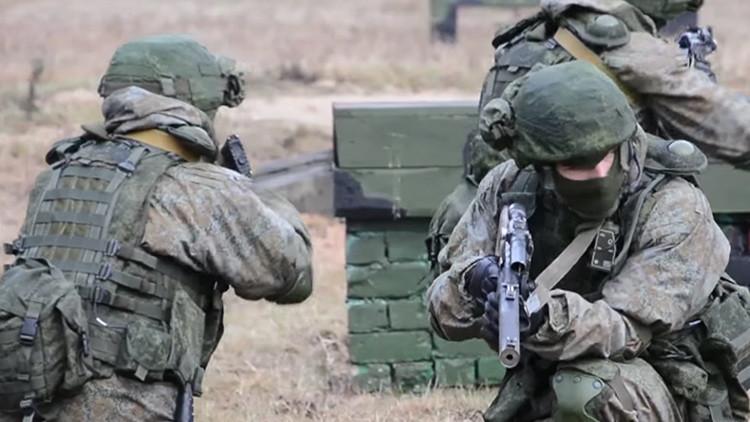Video: Las tropas rusas ensayan el novísimo equipamiento del soldado Rátnik