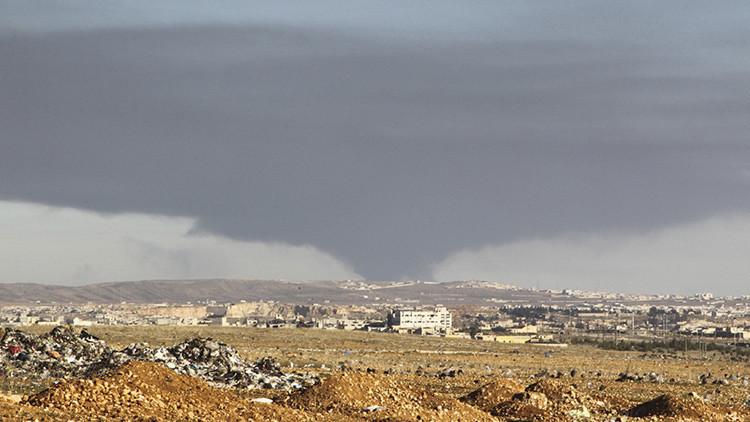 Video: Así hostigan las tropas sirias a los terroristas