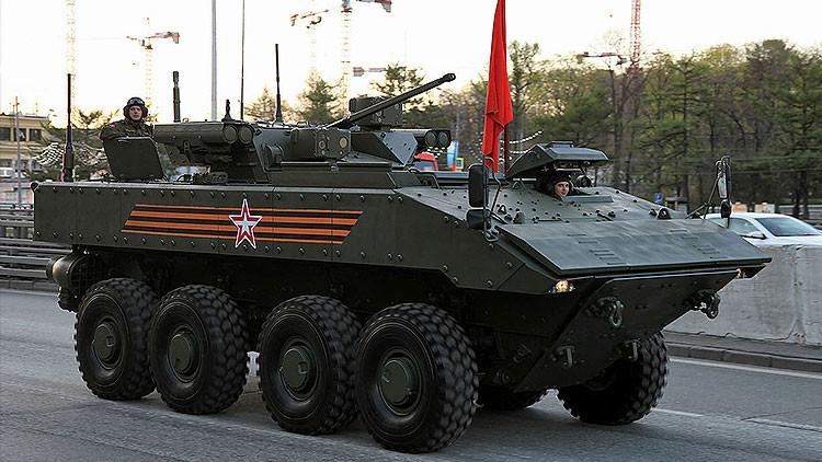 """El nuevo vehículo acorazado """"indestructible"""" ruso entra en fase de pruebas"""