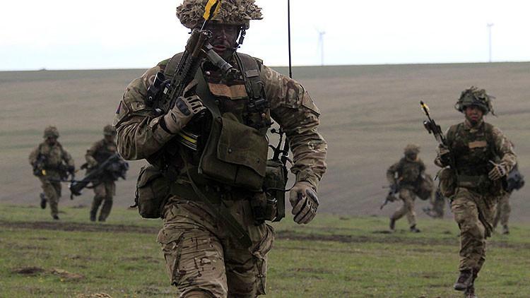 Reino Unido se prepara en Oriente Medio para una guerra contra Rusia