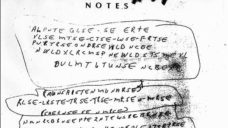 ¿Se ve capaz de resolver el 'código McCormick'? Un misterioso asesinato trae de cabeza al FBI