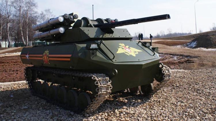 """""""Los nuevos tanques robóticos letales de Rusia se vuelven globales"""""""
