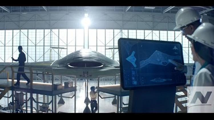 Video: Revelan el futurista caza estadounidense de Northrop Grumman