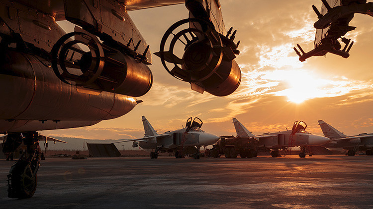 """EE.UU.: """"Los ataques aéreos rusos ayudarán al gobierno sirio a controlar áreas clave como Alepo"""""""