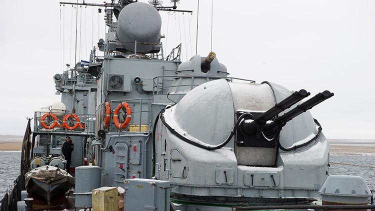 La Marina rusa inicia el despliegue sorpresa de sus tropas en el mar Negro y el Caspio