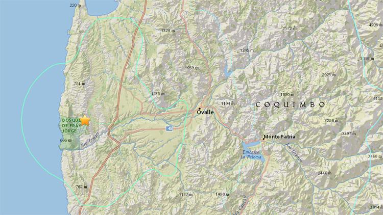 Un terremoto de magnitud 6,3 sacude la zona central de Chile y se siente en Argentina