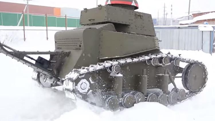 Video: ¿Cómo fabricar un tanque en cinco minutos?