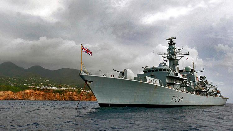 Cinco buques de guerra serán desplegados en el Báltico en respuesta a 'la amenaza rusa'