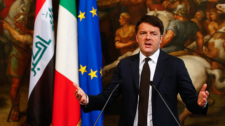 "Renzi: ""La UE es como la orquesta del Titanic"""