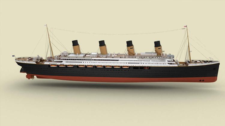 Fotos: Así es el Titanic II, una réplica exacta de la célebre nave, que zarpará en 2018