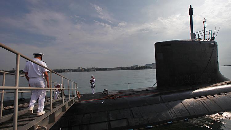 EE.UU. envía un submarino de combate a Corea del Sur