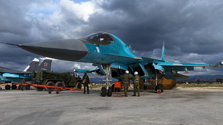 Rusia: El operativo ruso destruye en una semana 1.900 objetivos militares de terroristas en Siria