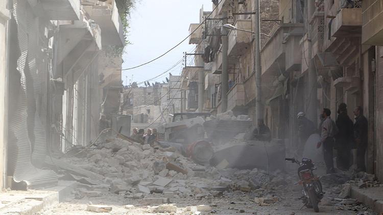 Rusia: Occidente muestra imágenes viejas de Alepo como si fueran consecuencias de los ataques rusos