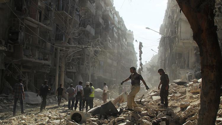 """""""El 11,5% de la población siria ha muerto o sufrió heridas durante la guerra civil"""""""