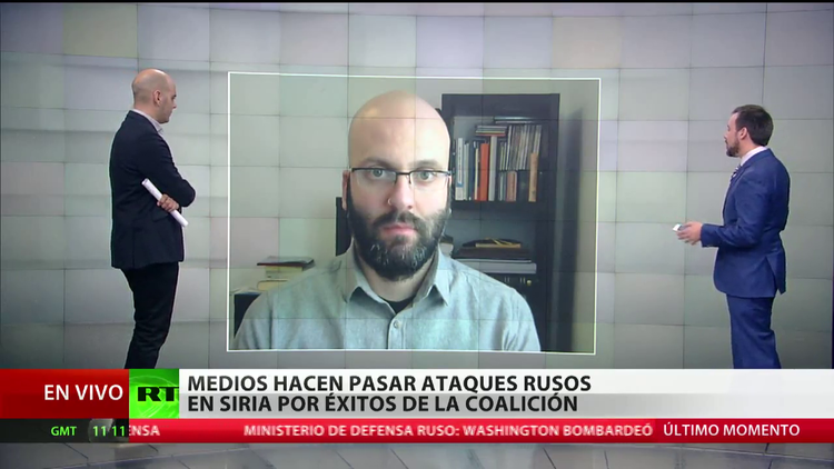 Medios presentan los ataques rusos como éxitos de la coalición internacional