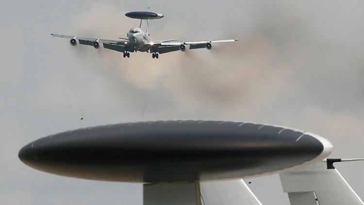 La OTAN enviará a Siria aviones-radares AWACS