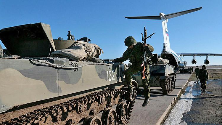 Putin: Rusia confirma su capacidad para defender su frontera sur