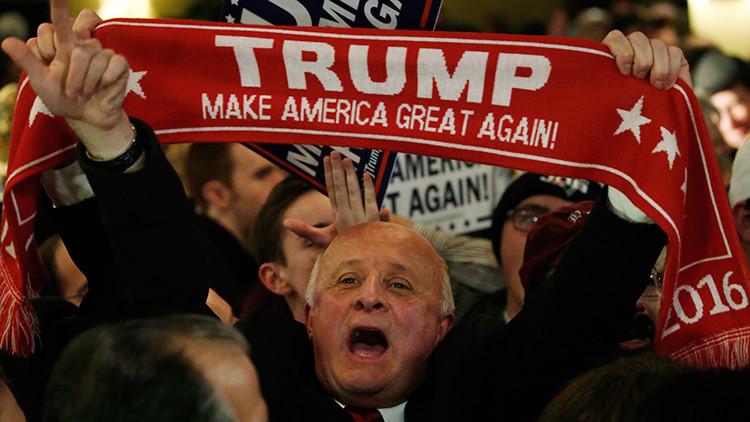 Nervios en Wall Street por los primeros giros inesperados de la carrera presidencial de EE.UU.
