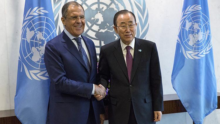 ONU: 'Financial Times' debe rectificar las palabras de Ban Ki-moon sobre papel de Rusia en Siria