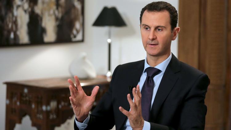 "Al Assad: ""Existe riesgo de que Turquía invada Siria"""