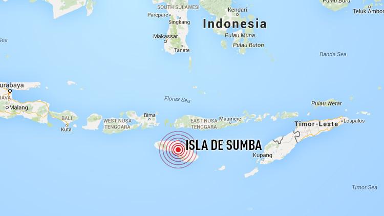 Un sismo de magnitud 6,5 deja incomunicada a una parte de Indonesia
