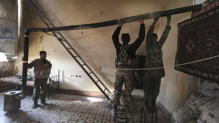 Los rebeldes sirios reconocen haber obtenido misiles del extranjero