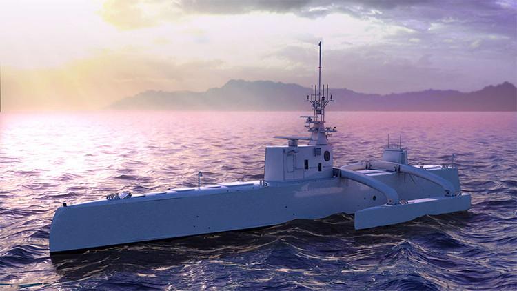 Cazador de submarinos: EE.UU. prepara su primer buque robotizado
