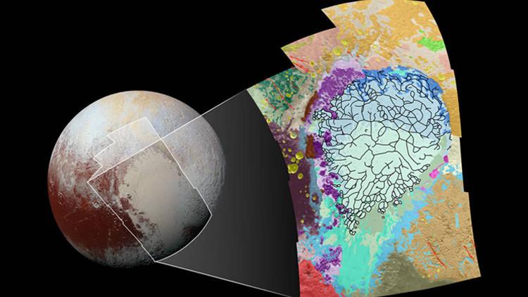 La Nasa le saca los colores al corazón de Plutón