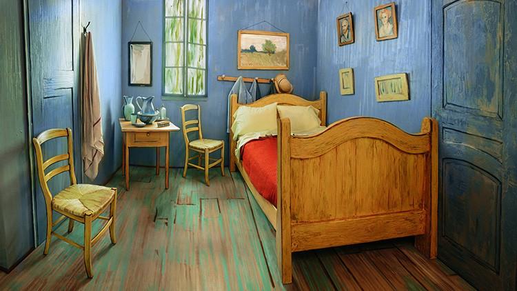 Dormir en un cuadro de Van Gogh: En Chicago alquilan 'su' habitación por 10 dólares