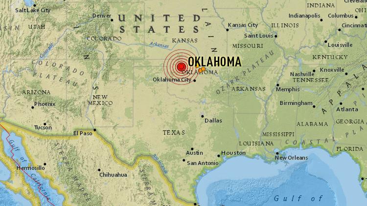 Un terremoto de magnitud 5,1 sacude Oklahoma, el tercer mayor en la historia del Estado