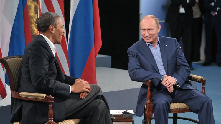 """Putin a Obama: """"Hay que establecer contacto entre nuestros militares para combatir al EI"""""""