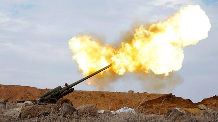 Turquía abre fuego de artillería en el norte de Siria