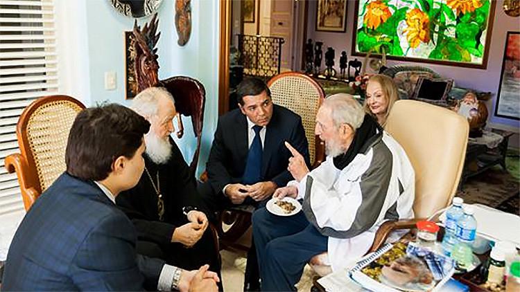El patriarca ortodoxo ruso se reúne con Fidel Castro en La Habana