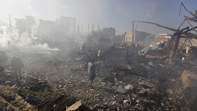 Arabia Saudita usa en Yemen bombas de racimo de EE.UU.